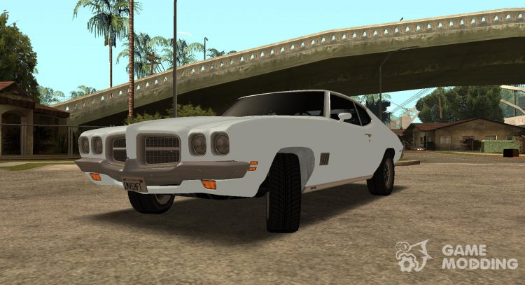 1971 Pontiac Lemans Hardtop Coupe for GTA San Andreas