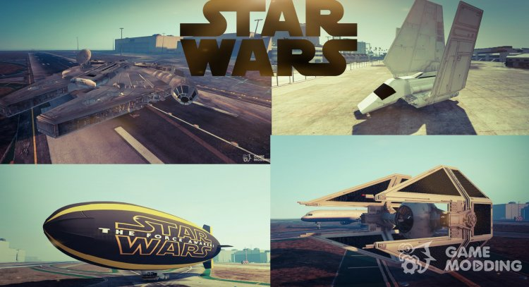 Star Wars Planes Pack for GTA 5