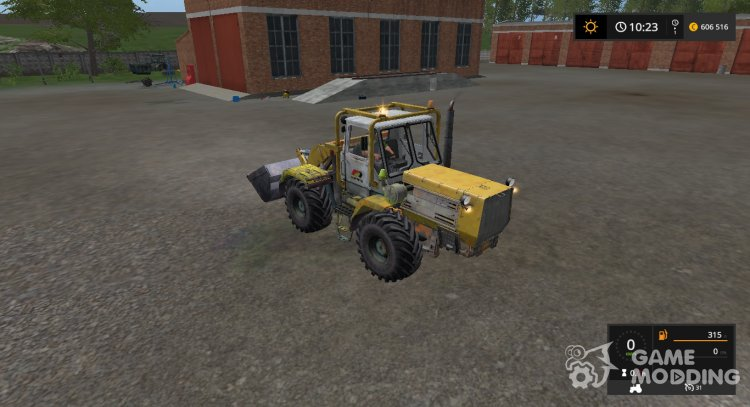 T-150K THEN-25 yellow version 1.6 for Farming Simulator 2017