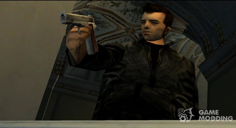 Claude from GTA III for Mafia: The City of Lost Heaven