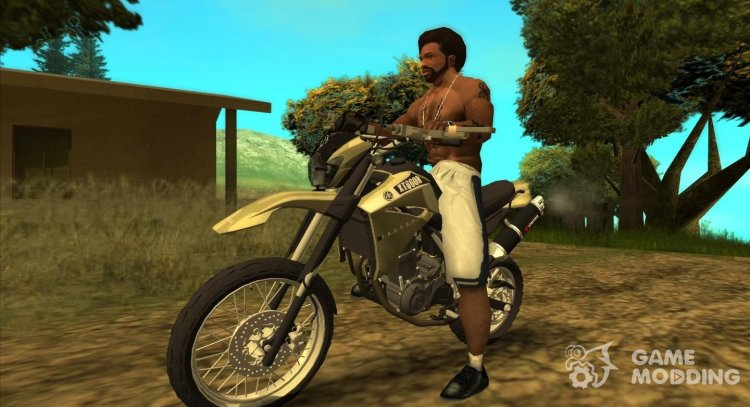 Yamaha XT 660 Enduro for GTA San Andreas