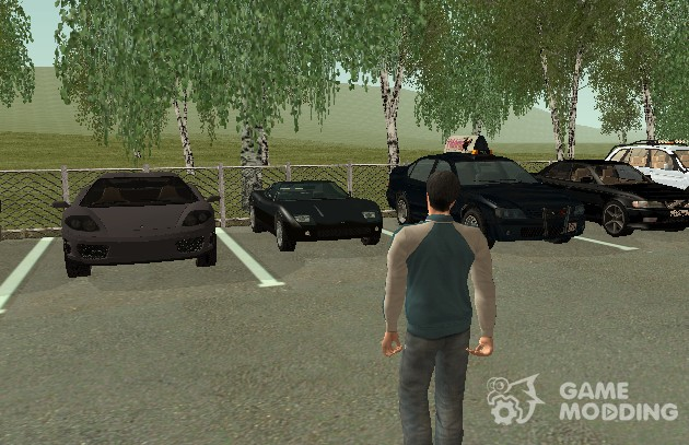 Pak cars, skins, weapons, etc. from the GTA 5 for GTA San Andreas
