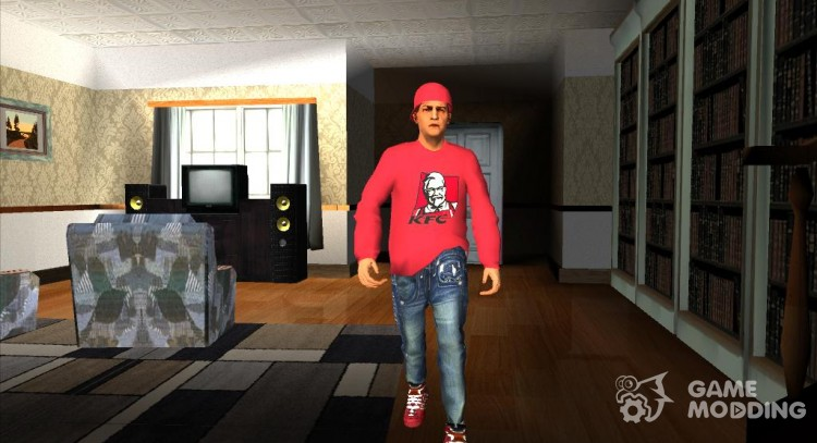 The guy in the sweater KFC for GTA San Andreas