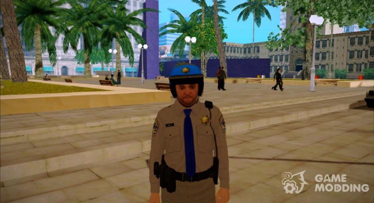 Michael De Santa-San Andreas Highway Patrol Uniform (GTA 5