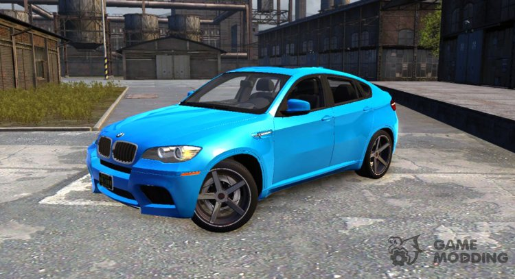 BMW X6M for Mafia II