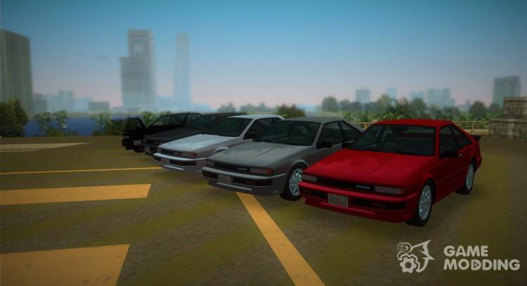 1986 Nissan 200SX for GTA Vice City