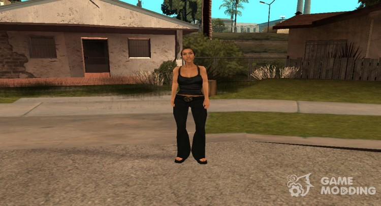 Catalina from cutscene.img for GTA San Andreas