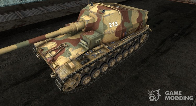 Skin for DickerMax for World Of Tanks