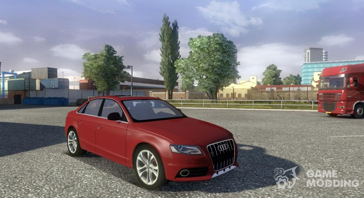 Audi S4 + Interior for Euro Truck Simulator 2