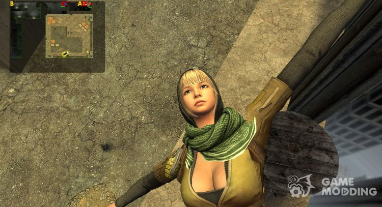Mila from CS Online 2 for Counter-Strike Source