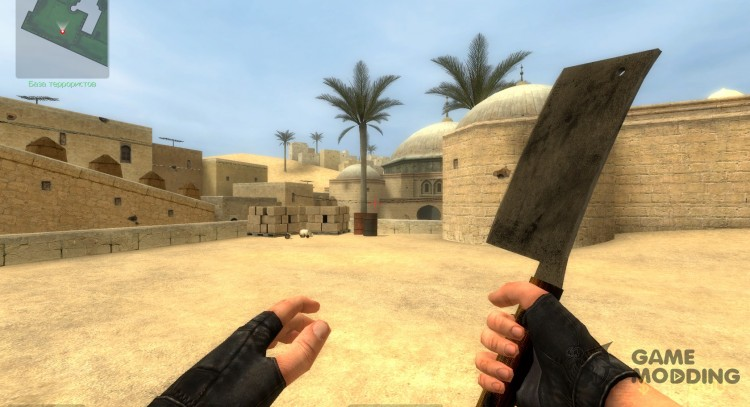 Meat cleaver for Counter-Strike Source