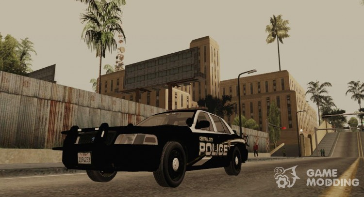 Ford Crown Victoria Central City Police для GTA San Andreas