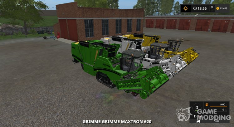 GRIMME MAXTRON 620 Multicolor v1.0.0 for Farming Simulator 2017