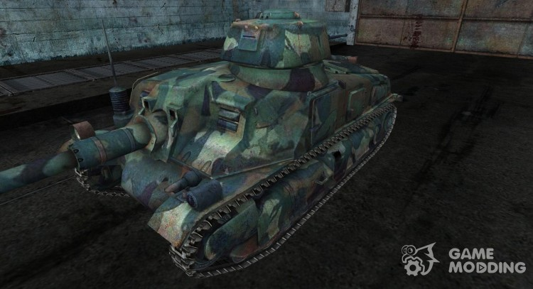 Skin for Somua S-40 for World Of Tanks