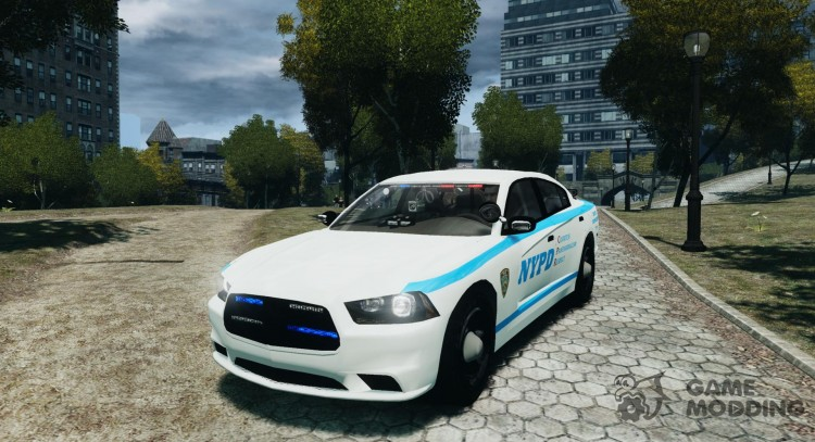 Dodge Charger NYPD 2012 for GTA 4