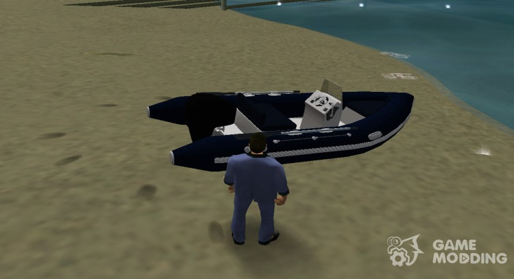 Dinghy GCU2000 for GTA Vice City