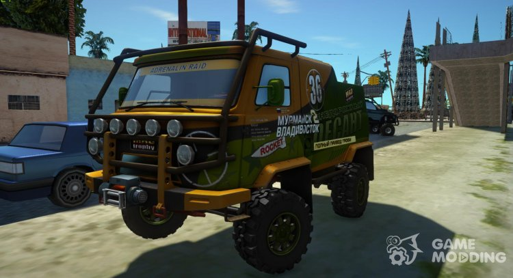 UAZ-2206 Expedition for GTA San Andreas