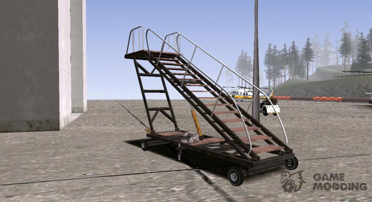 GTA V HVY Airtug (Low big stairs) (Tugstair) for GTA San Andreas
