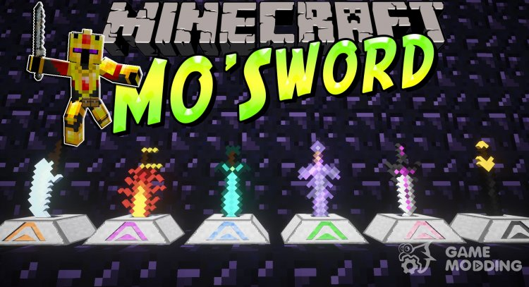 Mo Swords Mod 1.12.2 for Minecraft