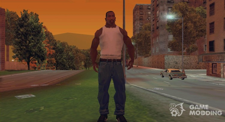 Carl Johnson для GTA 3