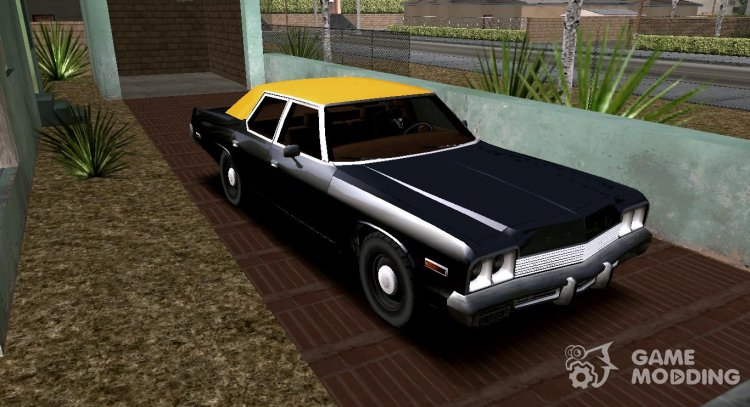 Dodge Monaco '74 (Civil) for GTA San Andreas