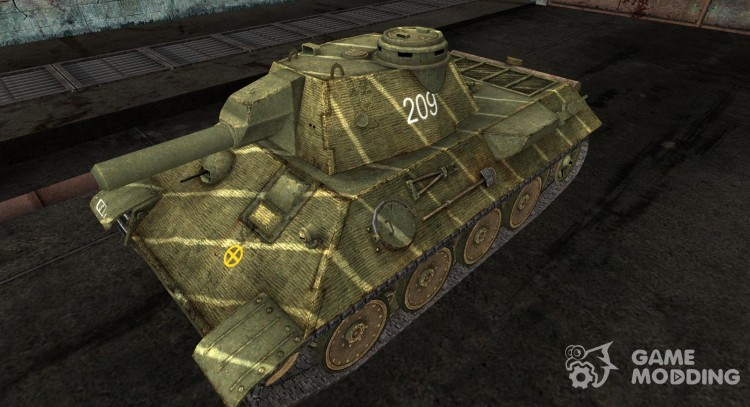 Skin for VK3002DB for World Of Tanks