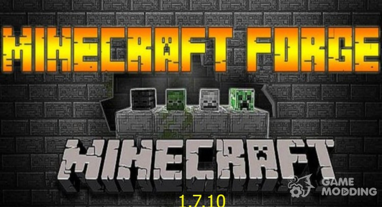 Minecraft Forge 1.7.10 para Minecraft