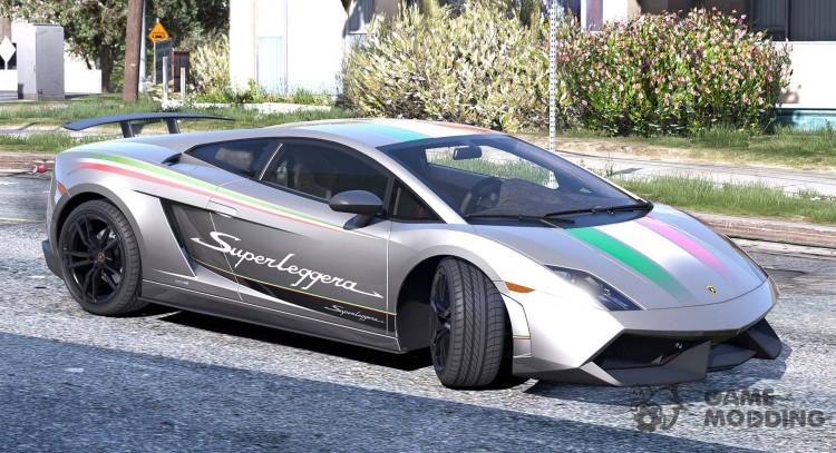 Lamborghini Gallardo LP570-4 Superleggera 2011 1.0 для GTA 5