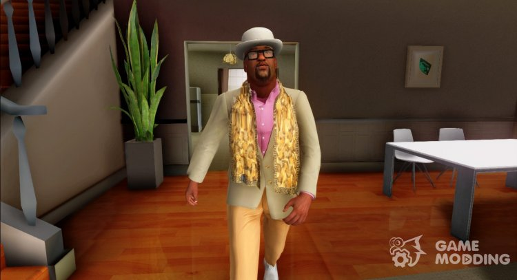 Big Smoke with Casino - Resort Outfit for GTA San Andreas