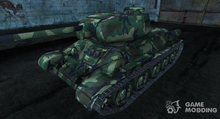 T-34-85 Jaeby 2 для World Of Tanks