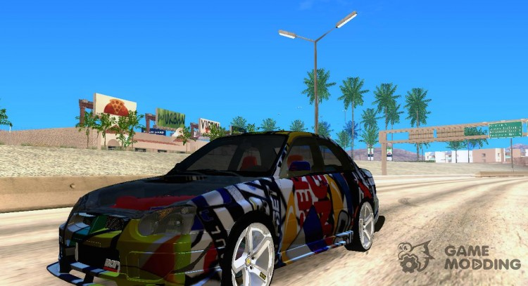 Subaru Impreza 2005 Mission Edition for GTA San Andreas
