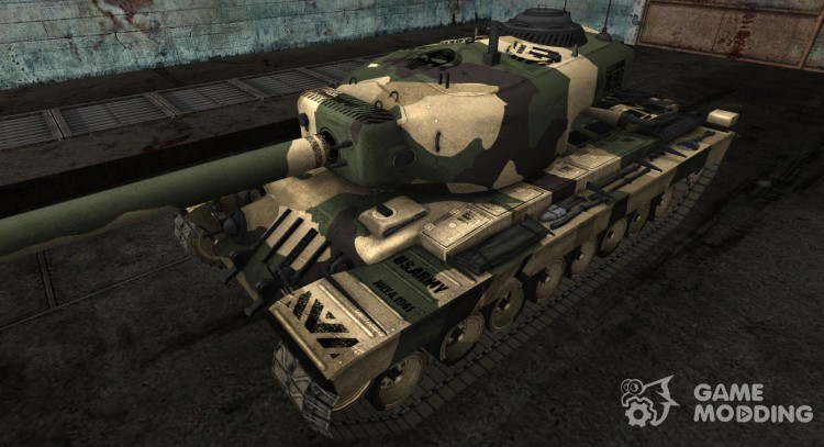 Skin for T34 for World Of Tanks