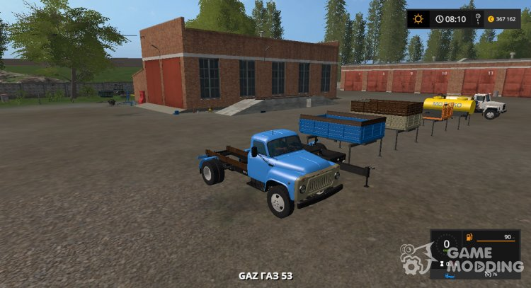 Pak trucks GAS for Farming Simulator 2017