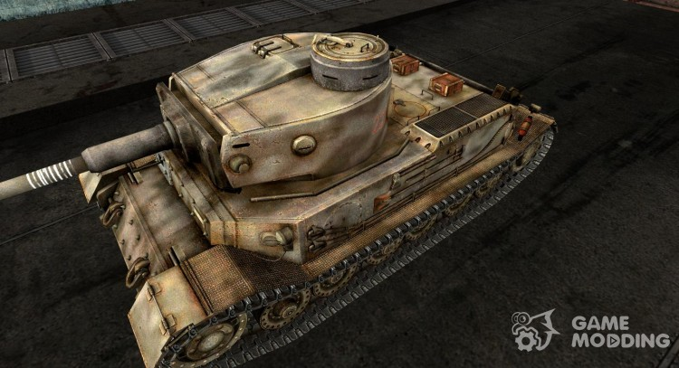 Skin for the Panzer VI Tiger (P) for World Of Tanks