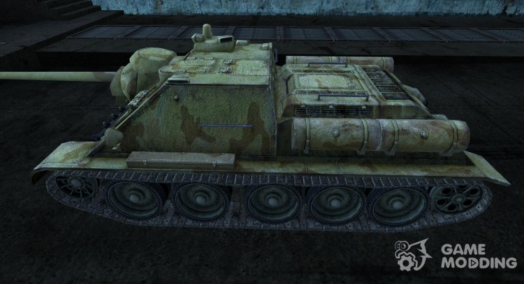 Шкурка для СУ-85 для World Of Tanks