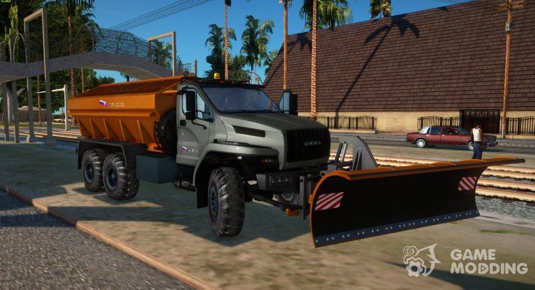 Ural 55571 Next, USST for GTA San Andreas