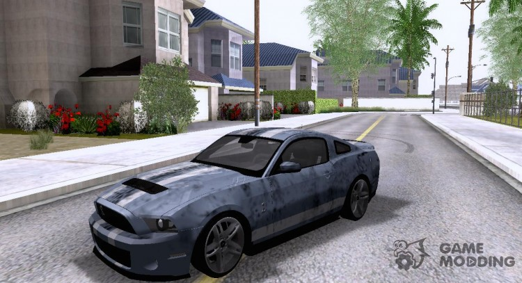 Ford Mustang Shelby GT500 для GTA San Andreas