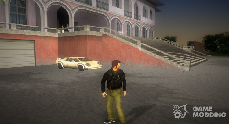 HD Claude для GTA Vice City