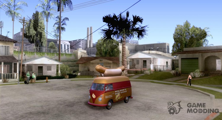 Volkswagen Transporter T1 Hot Dog for GTA San Andreas