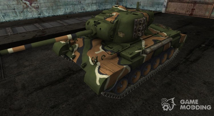 Шкурка для M26 Pershing для World Of Tanks