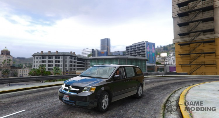 Dodge Grand Caravan SXT 2008 for GTA 5