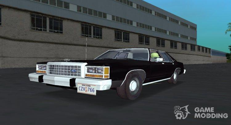 Ford Ltd Crown Victoria 1985 Mib For Gta Vice City
