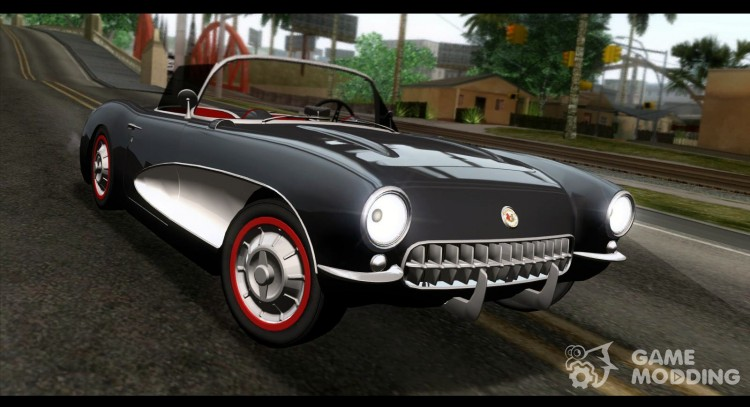 Corvette C1 1962 for GTA San Andreas