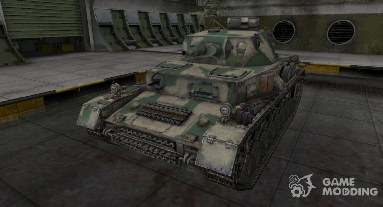 Skin for the German Panzer IV for World Of Tanks