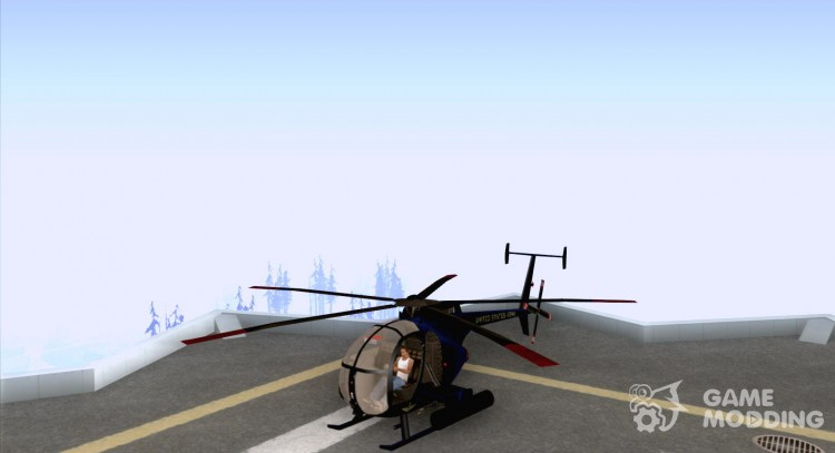 AH-6 Little Bird for GTA San Andreas