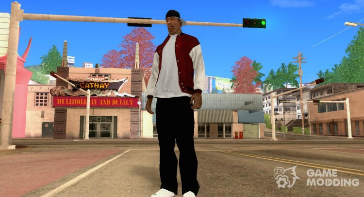 Phat Farm Shoes for GTA San Andreas