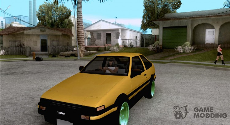 Toyota Corolla AE86 Carib for GTA San Andreas