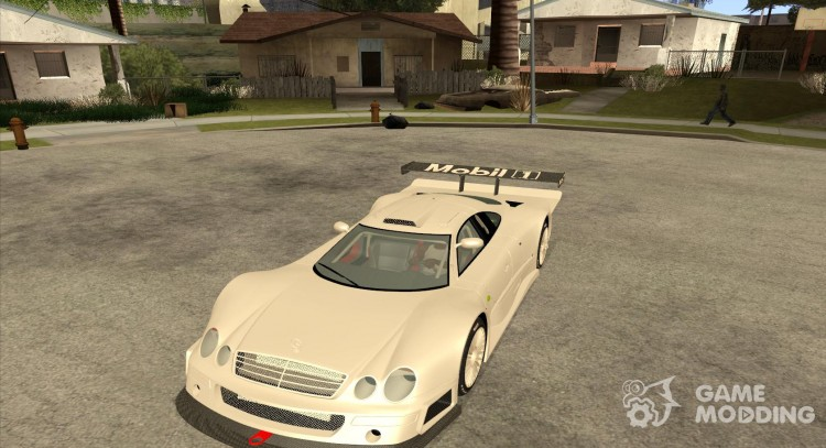 Mercedes-Benz CLK GTR Race Car for GTA San Andreas