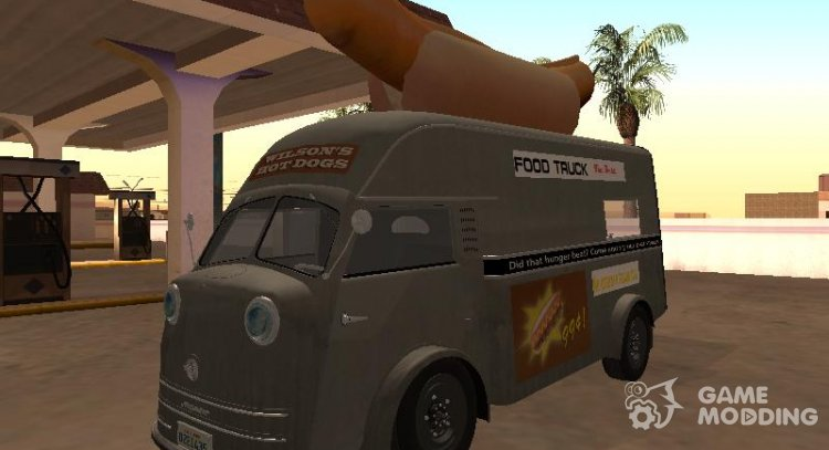Time Killer 1952 Hotdog Van-Edition for GTA San Andreas