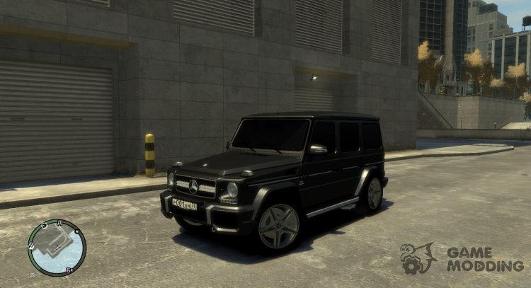Mercedes-Benz G65 AMG for GTA 4